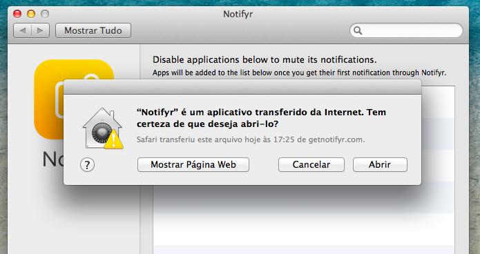 Instalando aplicativo no Mac (Foto: Reprodução/Helito Bijora)