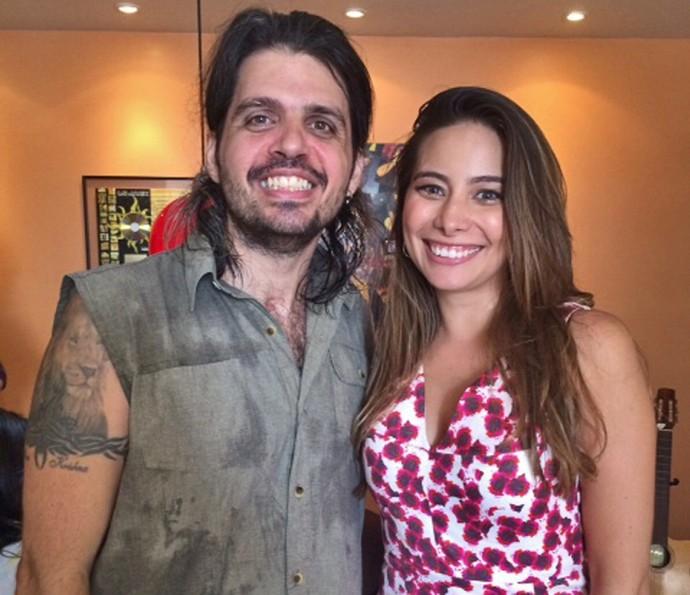 Marcus Menna recebe o 'Vídeo Show' em sua casa no 'Por Onde Anda' (Foto: Arquivo pessoal)