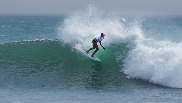 Bethany Hamilton etapa trestles mundial de surfe (Foto: WSL/Kirstin)