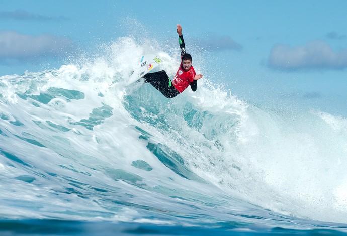 surfe Adriano de Souza Mineirinho Bells Beach Mundial final (Foto: WSL)