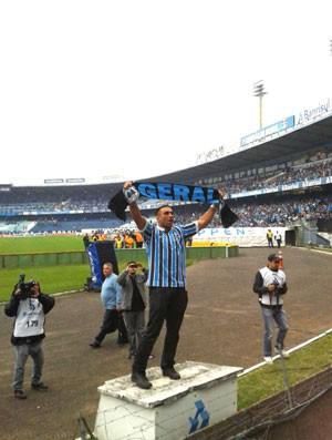 Fabrício Werdum, Grêmio (Foto: Arquivo Pessoal)