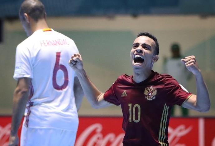 Robinho Rússia Mundial de Futsal (Foto: Getty Images/Fifa)