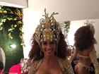 Milena Nogueira faz dobradinha em noite de Campeãs na Sapucaí