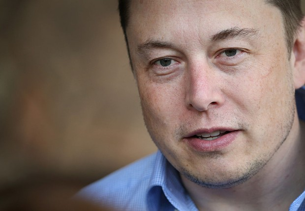 O bilionário e CEO da Tesla Motors e da SpaceX, Elon Musk (Foto: Scott Olson/Getty Images)