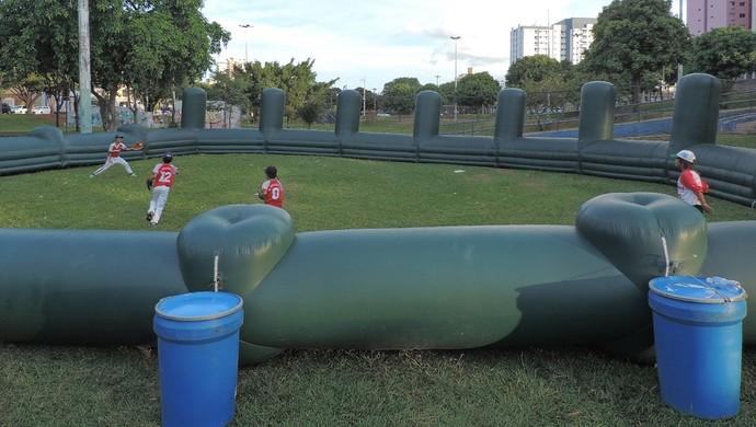 Beisebol Festival Sesc Thermas no Parque do Povo, em Prudente (Foto: Ronaldo Nascimento / Globoesporte.com)