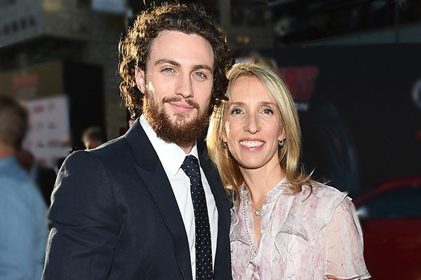 Sam Taylor-Johnson e Aaron Taylor-Johnson (Foto: Getty Images)