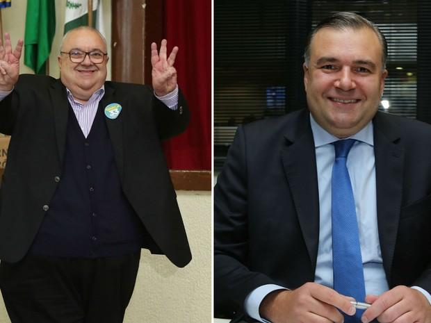 Rafael Greca e Ney Leprevost (Foto: Giuliano Gomes/PRPRESS)