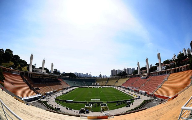 Pacaembu final Corinthians Santos (Foto: Marcos Ribolli)