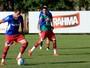Sem Blanco e Éder, elenco do Bahia treina na segunda atividade do dia