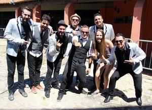 Carol Passos cantou com a Big Time Orchestra no aniversário de Curitiba  (Foto: Arquivo pessoal)