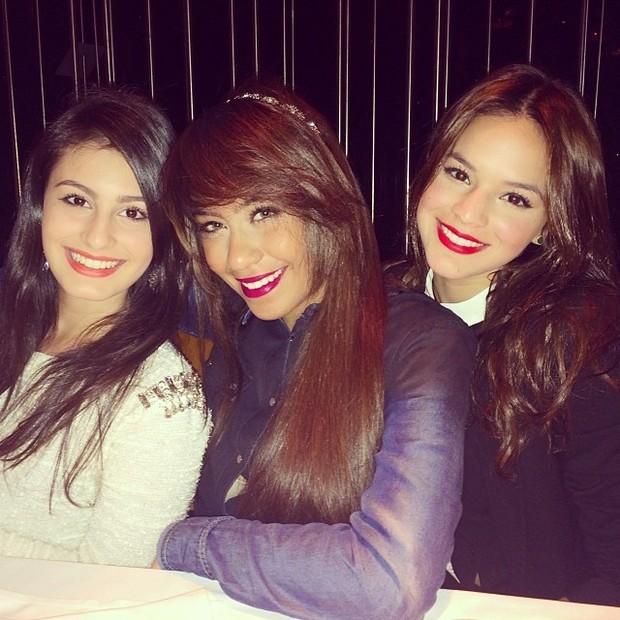 Rafaella Santos e Bruna Marquezine (Foto: Instagram/ Reprodução)