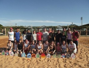 Primeiro torneio misto de beach tennis foi realizado em julho em Campo Grande MS (Foto: Divulgação/Assessoria)