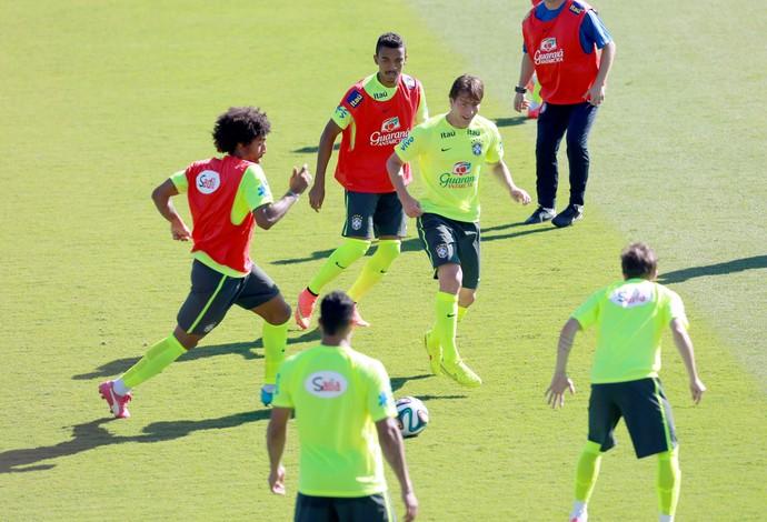 treino da Seleção em BH (Foto: Jefferson Bernardes/VIPCOMM )