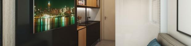 Arquitetura se adapta às novas formas de morar com apartamentos compactos e funcionais  (editar título)