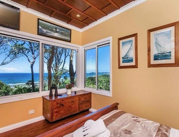 A casa que Miley Cyrus e Liam Hemsowrth estariam cogitando comprar na Austrália (Foto: Divulgação)