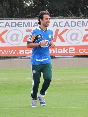 Treino do Palmeiras, Valdivia (Foto: Marcos Guerra / Globoesporte.com)
