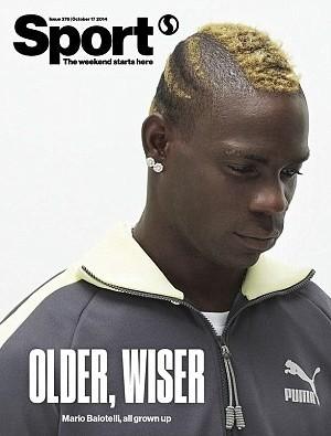 Balotelli revista (Foto: Reprodução)