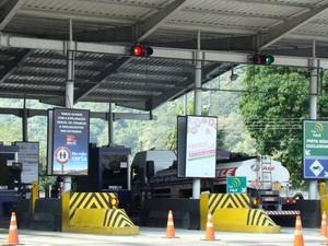 As praças de pedágio na RJ-116 estarão preparadas para o aumento do fluxo durante o Carnaval (Foto: Divulgação/Rota 116)
