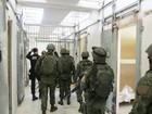 Marinha faz busca por armas, drogas e celulares no Pavilhão 5 de Alcaçuz