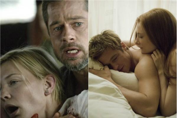 Depois de interpretarem marido e mulher no trágico 'Babel' (2006), Brad Pitt e Cate Blanchett fizeram um casal de novo apenas dois anos depois, no drama 'O Curioso caso de Benjamin Button' (2008) (Foto: Divulgação)
