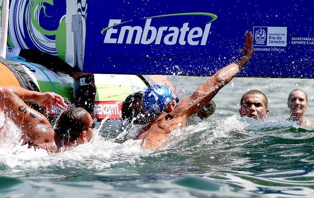Luis Arapiraca vence a Travessia dos Fortes (Foto: Daniel Ramalho / Divulgação AGIF)