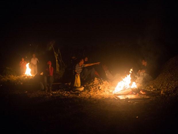 MTST invadiu e ocupou terreno em Itapecerica da Serra durante a madrugada deste sábado (9), informou a PM (Foto: PAULO ERMANTINO/RAW IMAGE/ESTADÃO CONTEÚDO)