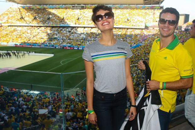 Sophie Charlotte e Daniel de Oliveira (Foto: Manuela Scarpa / Foto Rio News)