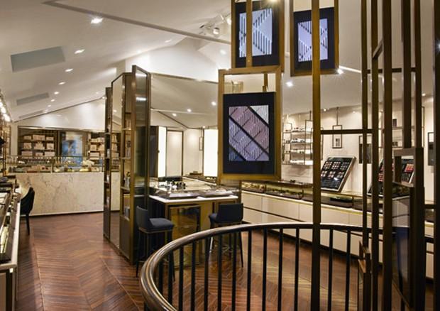 O interior da Burberry Beauty Box (Foto: Divulgação)