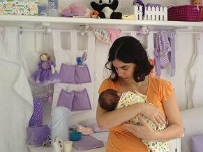Mães voltam ao trabalho após licença maternidade (Foto: Arquivo pessoal)