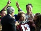 Dilma visita Arena da Baixada e encerra 'tour' por estádios da Copa