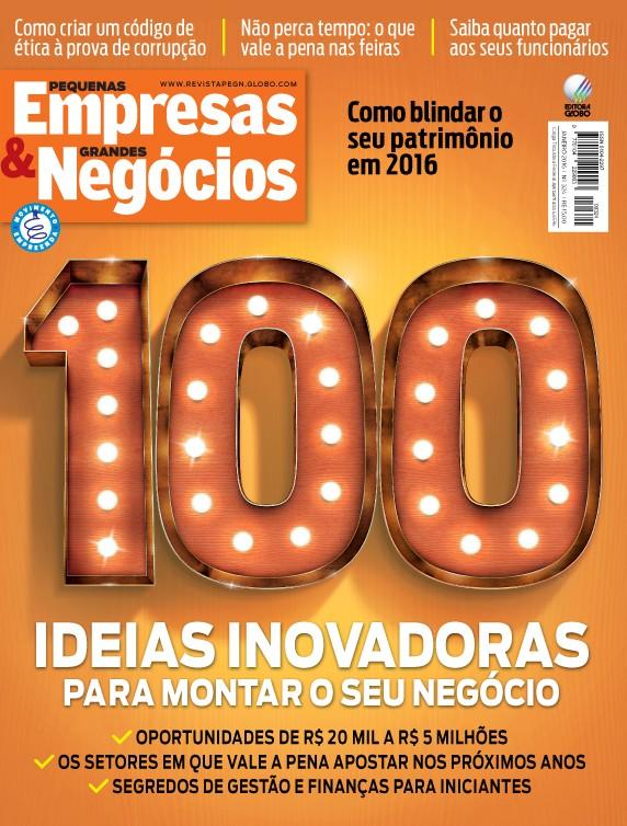 Capa de Janeiro: as 100 ideias de negócios para empreender no ano novo (Foto: Divulgação)