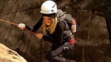Diana Sabadini cumpriu a missão no Pico das Agulhas Negras (Plugue )