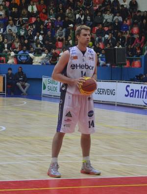 Thomas Gerhke Ala-pivô Mogi das Cruzes basquete (Foto: Cairo Barros)