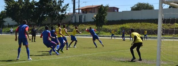 Usac; São Caetano; Sub-20 ; amistoso (Foto: Thiago Fidelix)