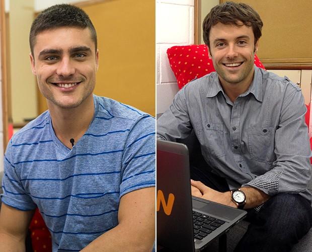 Guilherme Leicam e Kayky Brito se enfrentam na Audição das Estrelas (Foto: Camila Serejo/Gshow)