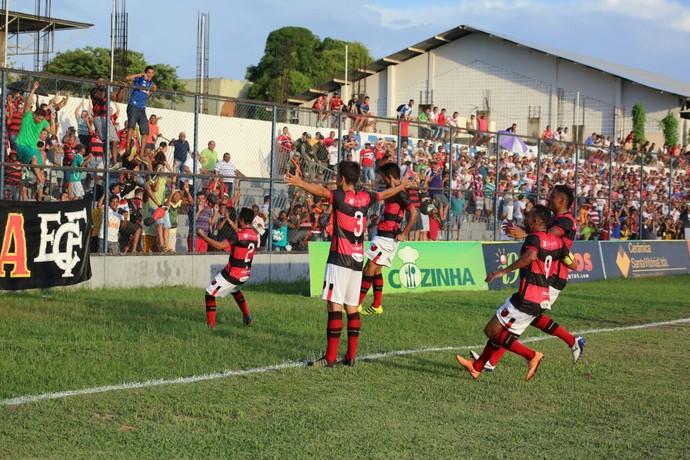 Willian Flamengo-PI x River-PI - Campeonato Piauiense 2017 (Foto: Wilson Filho/ECF)
