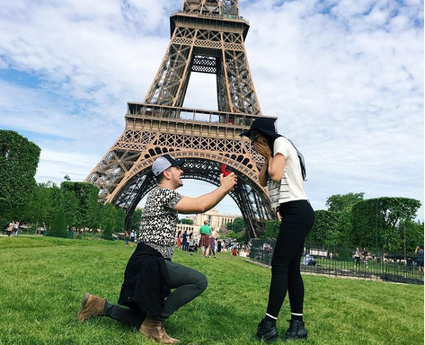 Débora Lyra é pedida em casamento por Gabriel Gava (Foto: Reprodução / Instagram)