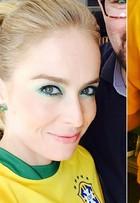 Veja o estilo de famosas como Angélica e Carolina Dieckmann para assistir ao primeiro jogo do Brasil