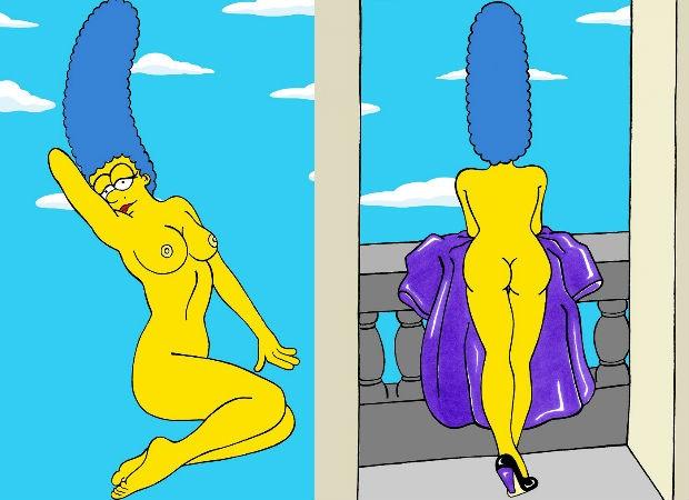 Marge Simpson O Voc Nunca Viu Artista Italiano Cria Vers Sey