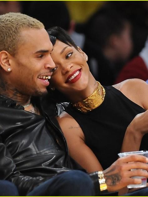 Chris Brown e Rihanna (Foto: Reprodução da internet)