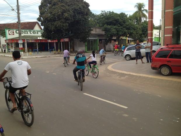 Bicicletas tarauacá (Foto: Duaine Rodrigues/G1)