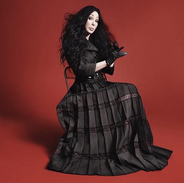 Cher também é garota-propaganda do inverno 2016 da grife (Foto: Divulgação)