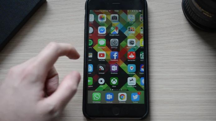 iPhone congela após alguns segundos (Foto: Reprodução/The Verge)