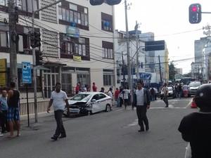 Crime ocorreu na manhã deste sábado, em Salvador (Foto: Rosecleide Brito/ TV Bahia)