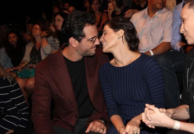 Rodrigo Lombardi e Deborah Secco (Foto: Celso Tavares / Ego)