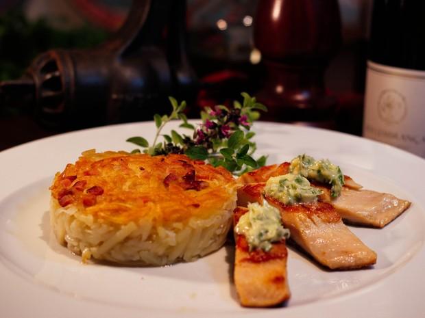 Truta salmonada é um dos pratos do cardápio especial de inverno (Foto: Bartrô Restaurante/Divulgação)