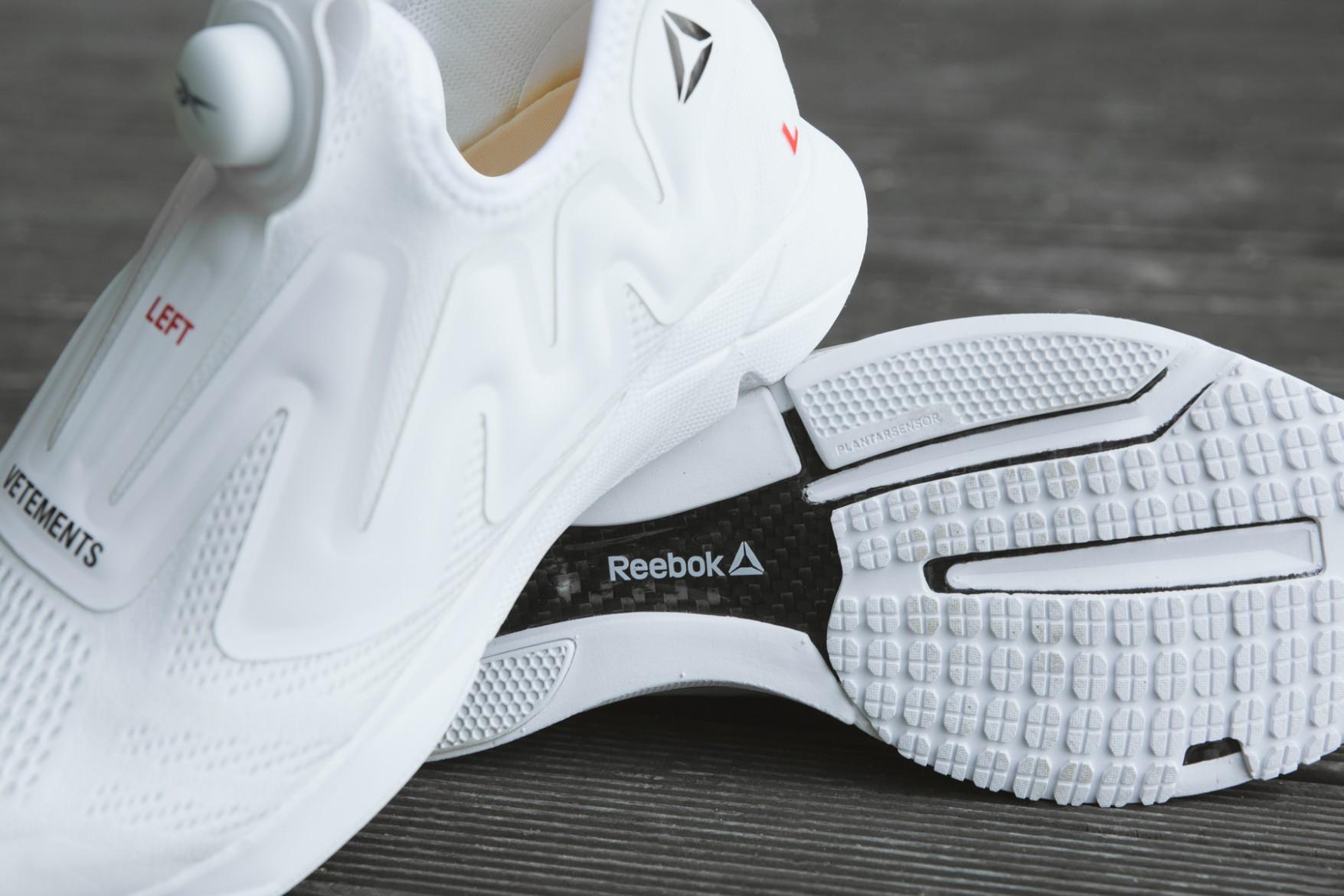 O tênis criado pela Vetements em parceria com a Reebok (Foto: Divulgação) (Foto: Divulgação)