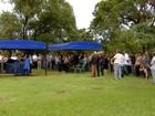 Corpo de Geraldo Roca é enterrado ao som de 'Trem do Pantanal' em MS