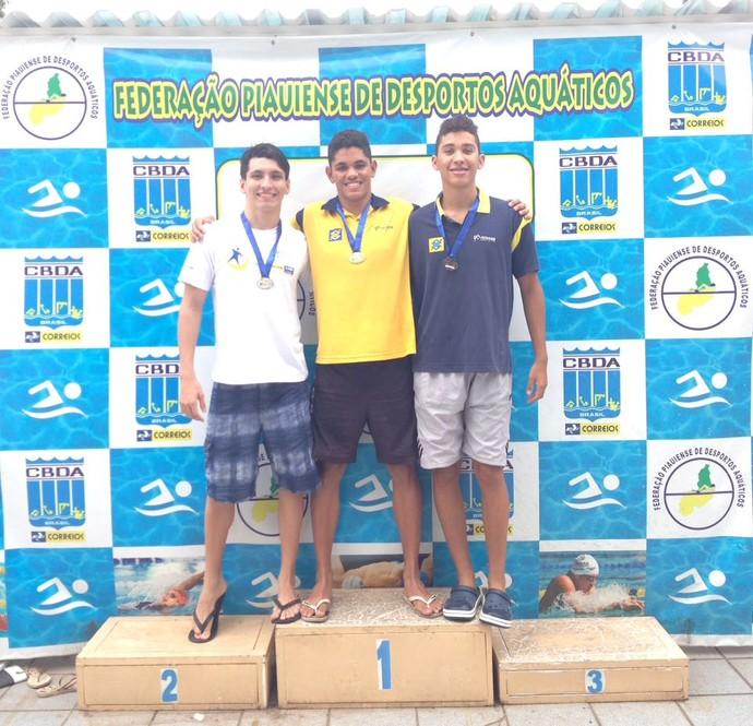 Caio Silvestre natação (Foto: Arquivo Pessoal)