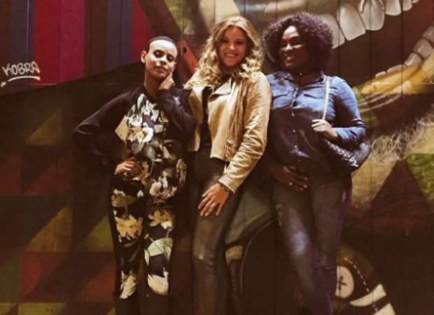 Aline Wirley, Fantine Tho e Karin Hills (Foto: Reprodução)